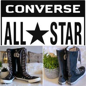 Converse All-Star knee high junior chucks Sz 3